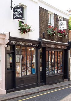 More bookish temptations at John Sandoe Books just off the King's Road in Chelsea, London