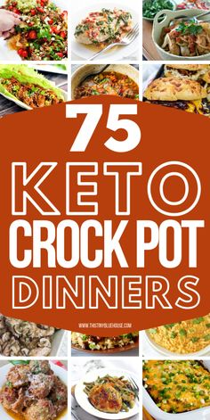 The easiest and BEST Crock Pot Keto dinners to make low carb dinners an absolute breeze. 75 Delicious, and easy Crock Pot Keto Dinners that'll make dieting easy!#ketoforbeginners #ketorecipes #ketodinnerrecipes #ketodinnerrecipeseasy #ketoslowcookerrecipes #ketoslowcookerrecipeslowcarb #lowcarbslowcookerrecipes #ketocrockpotrecipes #ketocrockpotdinners Keto Dinner, Crockpot Recipes, Mexican, Tacos