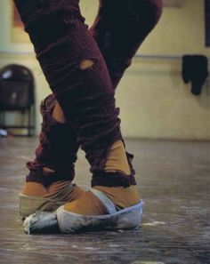 classic picture of Jonette Swider's feet