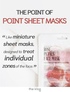 Korean skincare is all about hydration, so Korea is constantly creating new ways to moisturize the skin and lock it in there! Point masks are miniature sheet masks that are designed to highlight and treat sections of your face. Great for those who have an oily t-zone, and want the benefits of sheet masking without adding moisture to their oiler areas. Check out our review of these rose, lemon, and cucumber point masks from Kocostar! Korean beauty for the win! #skincare #kbeauty #theklog