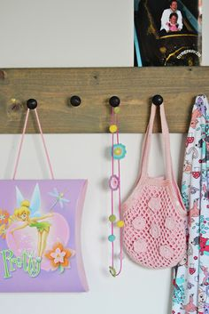 Easy diy... can go anywhere for hanging stuff up.
