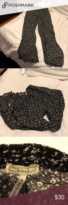 Floral Beach Pants Originally purchased from Pacsun (brand of pants is KIRRA)  Worn once or twice, essentially brand new!  SIZE SMALL  Very comfortable :) and cute for the beach or a casual Sunday brunch   Open to offers! Bundle & save :) PacSun Pants
