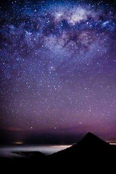 Southern Stars and Aurora Australis