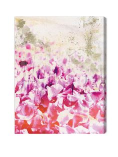 Gold Spring Canvas Art Print