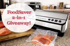 ENTER TO WIN this FoodSaver 2-in-1 Vacuum Sealer on ASpicyPerspective.com #giveaway #prize #holidays