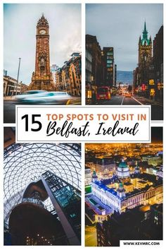 Northern ireland - 15 top spots to visit in belfast. 15 best things to see in belfast northern ireland. Belfast is the capital of Northern Ireland, and the largest city in the country. It's filled with stunning ancient buildings and historical point of interests.The question is:What are the best things to see during your stay in Belfast? Well, that's exactly what you're going to see in this guide. #irelandtravel #citybreak