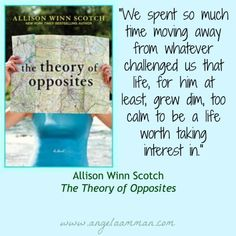 Review of The Theory of Opposites by Allison Winn Scotch