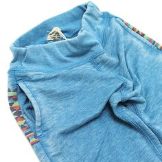 F.O.KIDS(エフオーキッズ):バーンアウト 4.5分丈カットソーパンツ ターコイズブルー(TB) の通販【ブランド子供服のミリバール】
