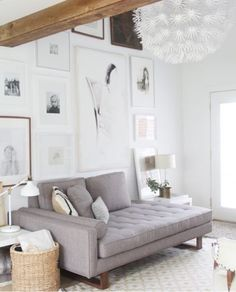 Living room- low profile napping sofa