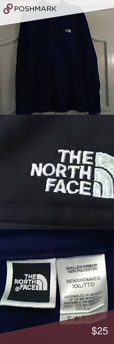 """Men's""""The North Face Pullover SZ. -XXL Fleece lined black pullover ultra wick,half zip,top left zip pocket.Pre owned good condition. The North Face Shirts Sweatshirts & Hoodies"""