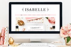 zhannadesign: Isabelle - Feminine WordPress Theme