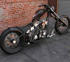 Awesome old and new school style chopper from WWC.
