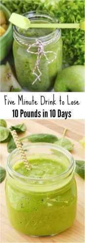 Five-Minute Drink to Lose 10 Pounds in 10 Days