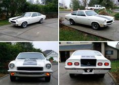 My Second car, a 1973 Vega GT...It really was a fun car, I had 50 series tires on the back, sun roof and side pipes