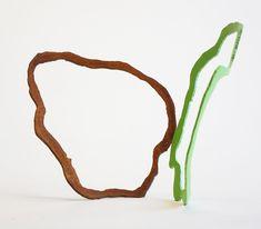 """Kombu"" Sculpture en acier Corten et laque 14 x 19 x 22 cm, Sculpture, Corten Steel, Sculptures, Sculpting, Statue, Carving"