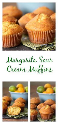 Margarita Sour Cream Muffins
