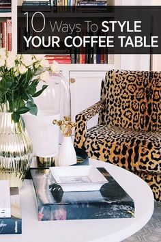 How to decorate your coffee table—as seen from the chicest Instagram ideas.