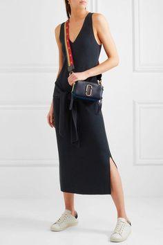 Marc Jacobs   Snapshot color-block textured-leather shoulder bag   NET-A-PORTER.COM