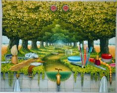 Jacek Yerka - Art Collection: paintings