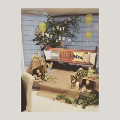 . 伝えたイメージそのままに 作って下さった フローリストさんに 感謝❤️ 吉田玲香さんの 高砂を参考にさせて頂きました . #プレ花嫁 #卒業 #メインテーブル#thebigday #wedding #高砂