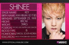 SHINEE Key Profile~ My 2nd Ultimate Bias <3