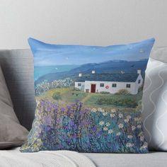 White Cottage, Serenity, Neutral, Throw Pillows, Bed, Cover, Scene, Range, Decor