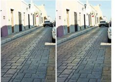 Bizarre optical illusion: Identical street images go viral The phenomena that caused people in 2015 to debate whether a dress was gold and white or b… Different Angles, Different Perspectives, Street Image, Street Photo, Kuala Lumpur, Photoshop, Perceptual Illusions, Illusion Tricks, Amazing Optical Illusions