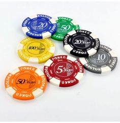 Zoek jij poker chips voor jouw cash games?   De Euro chips zijn gedrukt op Texas Holdem design pokerchips en voorzien van een opdruk in de stijl van de Euro munten.   Beschikbare waarden vanaf 10 eurocent t/m 100 Euro.