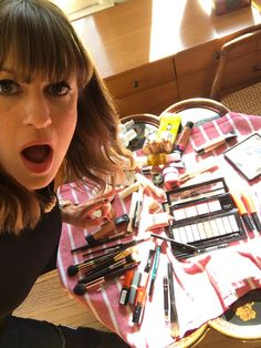 Makeup artist Jamie Greenberg—who prettified both Tracee Ellis Ross and Kaley Cuoco for the Golden Globes last night—gives us a glimpse into her hectic day, which starts by waking up bright and early at 6 a.m.
