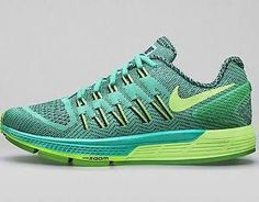 09435efee00 Nike Womens Air Zoom Odyssey Shoes Size 8.5 Menta Black Green 749339