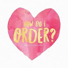 We've been getting this question a lot lately & want to make ordering as simple as possible for our customers!  Here's how: Click the link in our profile to fill out an order form & we will send you an invoice from there!  Thanks so much to all our awesome followers for your support! We can't wait for you guys to fall in love with Lipsense too!  -J, C & C