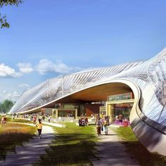 Google has released a movie detailing its plans for a new California headquarters designed by Bjarke Ingels' firm and Heatherwick Studio