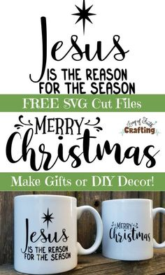 6ed5a48d FREE Christmas SVG files! Make your own inexpensive DIY gifts and DIY  Christmas decor with