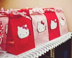 Hello Kitty Girl Pink Birthday Party Planning Ideas and like OMG! get some yourself some pawtastic adorable cat apparel! Bolo Da Hello Kitty, Hello Kitty Favors, Hallo Kitty, Hello Kitty Themes, Hello Kitty Birthday Theme, Girls Birthday Party Themes, 9th Birthday Parties, Pink Birthday, Birthday Ideas