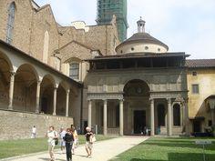 Pazzi Chapel - Brunelleschi