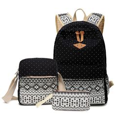 41.61$  Watch now - http://viyor.justgood.pw/vig/item.php?t=u8ay17z59863 - Abshoo Canvas Dot Backpack Cute Lightweight Teen Girls Backpacks School Shoulder