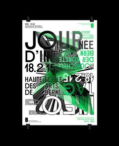 2822f0510a  poster  infoday  graficdesign  typography