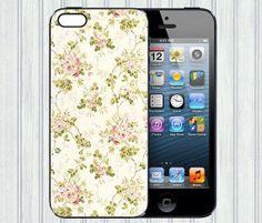 Floral iphone 4 case, iphone 4s case, iphone case 5 cover 4, iphone 5 case 4 cover, iphone cover 4 case