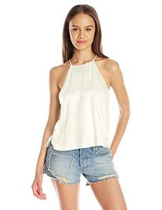 Listed Price: $5.79 Sale Price: $5.69 Woven A-line essential cami top. Relaxed fit. Perfect paired with cut off denim.... Read…