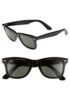 Already thinking of summer. These classic Ray-Ban sunglasses will come in handy, soon.