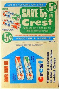 vintage supermarket coupons - Google Search