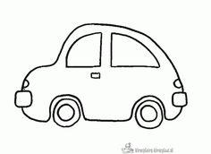 Kleurplaat auto Tag Image, Toddler Activities, Diy For Kids, Dream Catcher, Coloring Pages, Transportation, Clip Art, About Me Blog, School