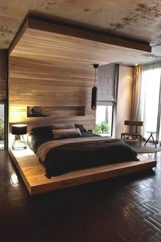 Home Decorating Idea Phot Contemporary Bed 151
