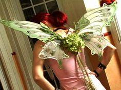 Floral Tea Party Fairy Wings : DIY