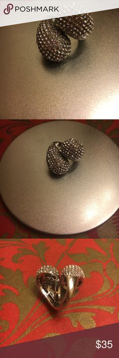 Joan Boyce must have pave crystal ring New with out tag Jewelry Rings