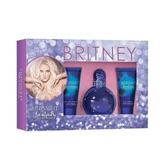 Midnight by Britney Spears  Fragrance Gift Set - 3pc