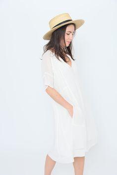 Afrodite Dress - Creme