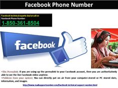 Is #FacebookPhoneNumber 1-850-361-8504 a toll-free aid?
