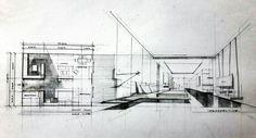 Interior plan and sketch Interior Sketch, Interior Design, Drafting Drawing, Perspective Sketch, Sketch Design, Designs To Draw, Interior Inspiration, Interior Architecture, Sketches
