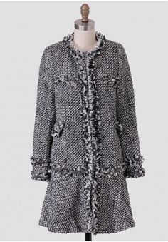 Merci Tweed Coat By Dear Creatures | Modern Vintage Clothing | Ruche